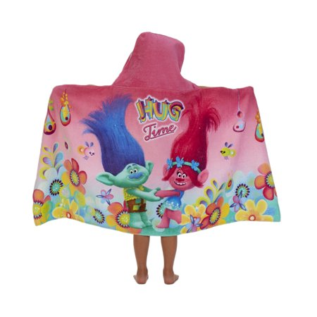 DreamWorks Trolls Hug Time Kids Hooded Bath Towel, 1 Each