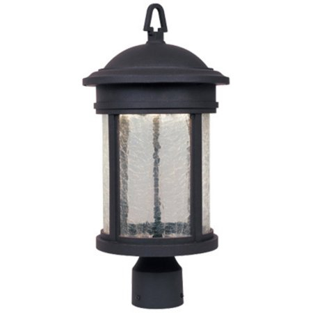 Designers Fountain Outdoor Prado LED32211 Post Lantern - Oil Rubbed Bronze (Outdoor Lamp Post Oil Rubbed)