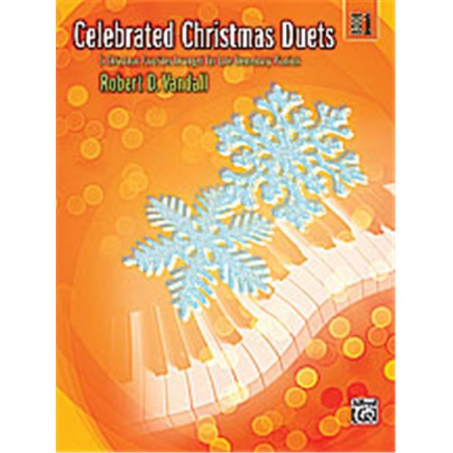 Celebrated Christmas Duets - Book 1 - Piano - Late Elementary