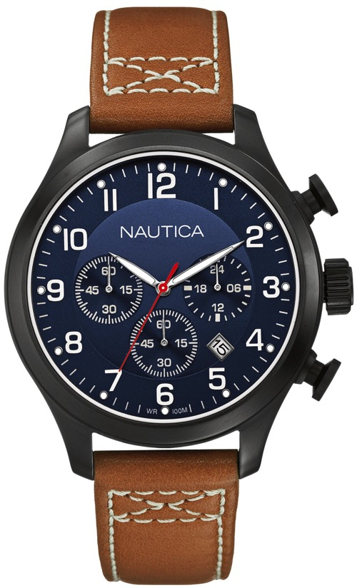 Men's Nautica BFD 101 Chronograph Watch N14699G by Nautica