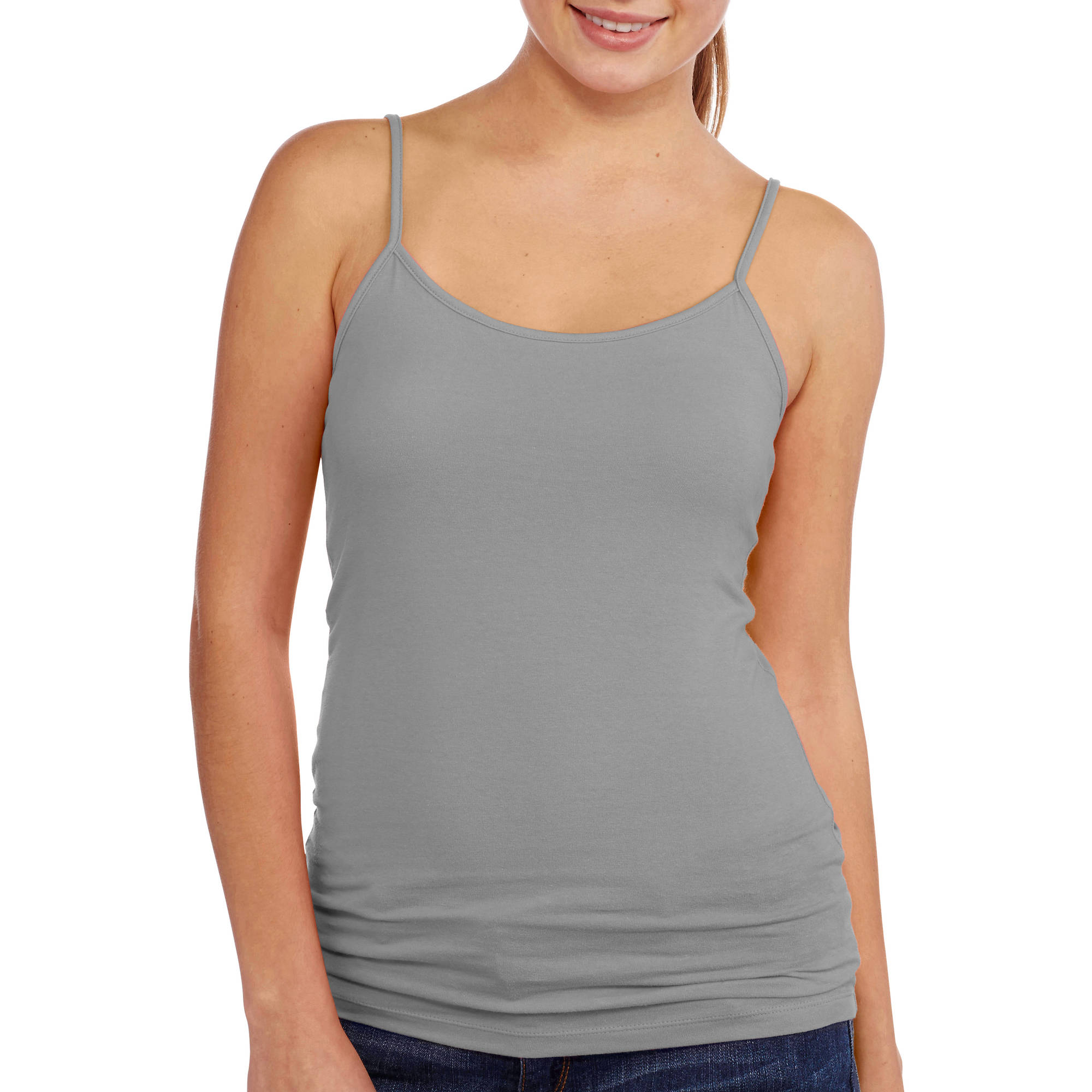 No Boundaries Juniors' Essential Knit Cami