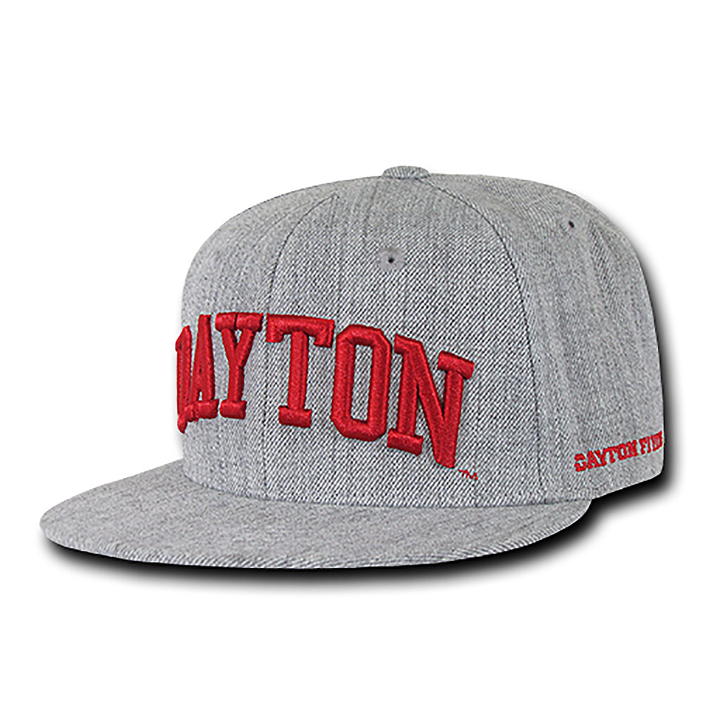 Dayton Flyers Game Day Fitted Hat (Gray)