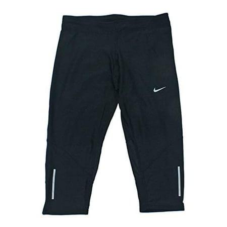 NIKE Womens Dri-Fit Tech Capris Running Pants 695386-010 (X-Small, Black)