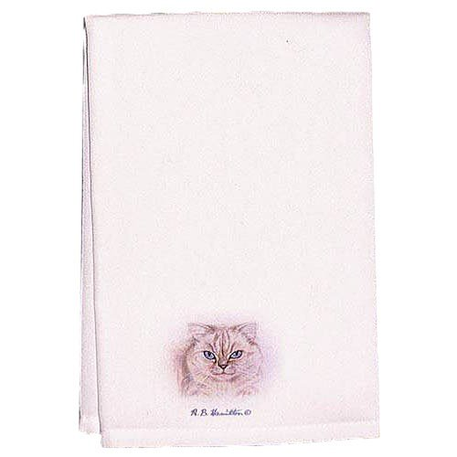 Betsy Drake Interiors Garden Barn and Geranium Hand Towel (Set of 2)