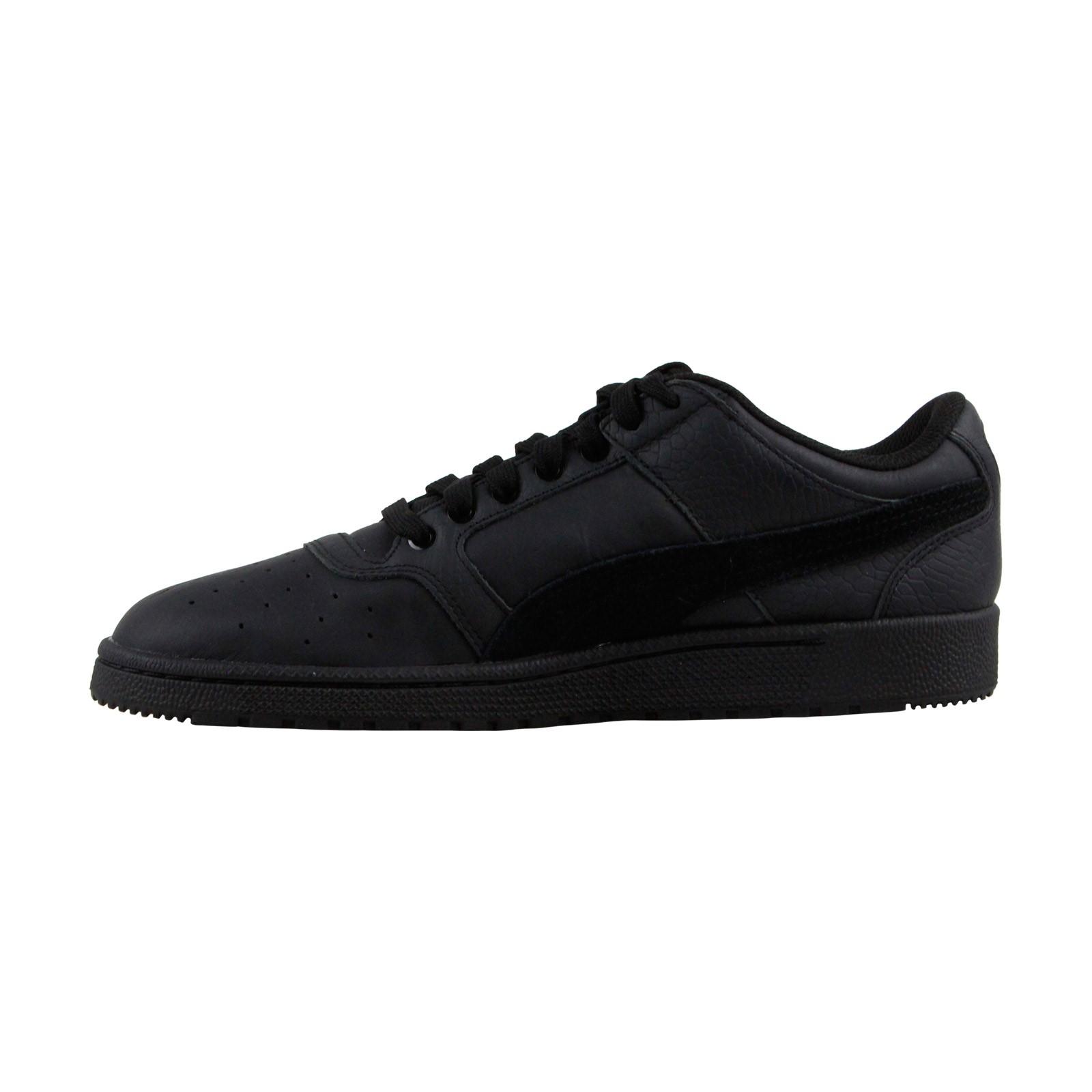 Puma Men's Sky Ii Lo Color Blocked Leather Whisper White-Whisper White Low Top Fashion Sneaker - 11.5M