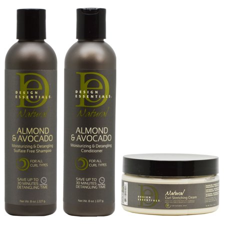 Design Essentials Natural Almond Avocado Moisturizing Detangling