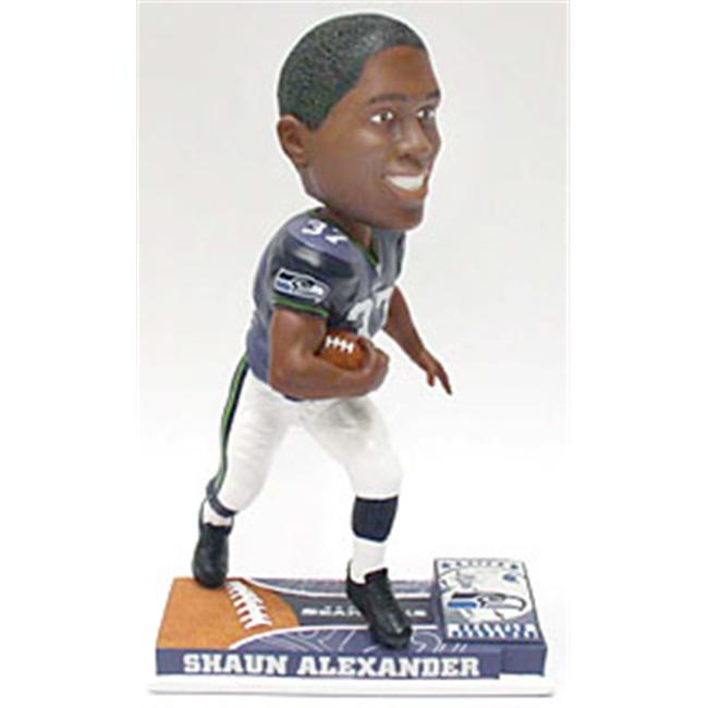 Seattle Seahawks Shaun Alexander Forever Collectibles On Field Bobble Head