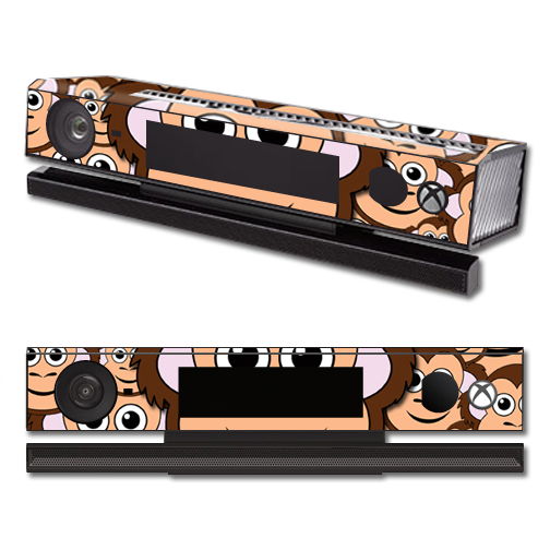 Mightyskins Protective Vinyl Skin Decal Cover for Microsoft Xbox One Kinect wrap sticker skins Monkey