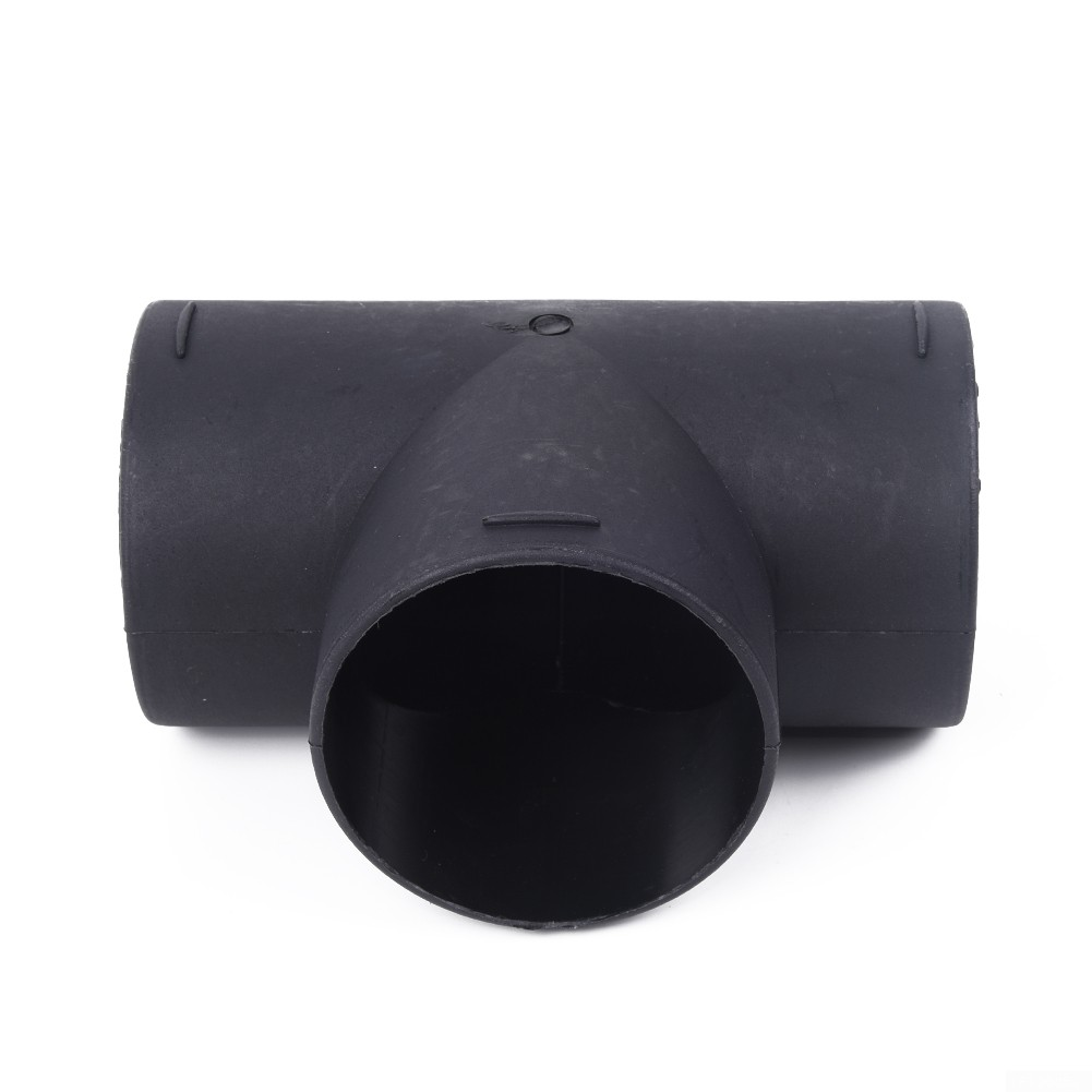 Black Air Vent Elbow Ducting Pipe 1T-75mm 3 Inch Replacement For Eberspaecher