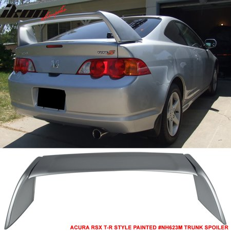 Fits 02-06 Acura RSX DC5 TR Style Rear Trunk Spoiler - - Lighted Spoiler