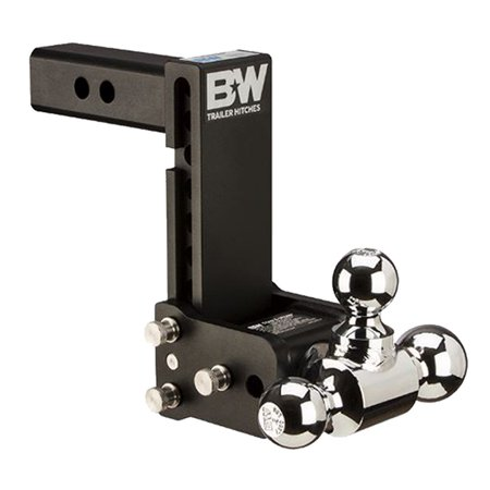 B&W Trailer Hitches TS10049B Class 4 Tow & Stow Adjustable 7