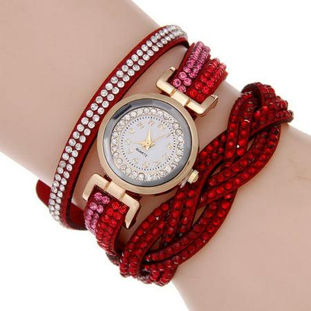 Fashion Women Watches Quartz Luxury Woman Wristwatch Casual Female Relogio Feminino Casual Gold Tone Wrist Watch