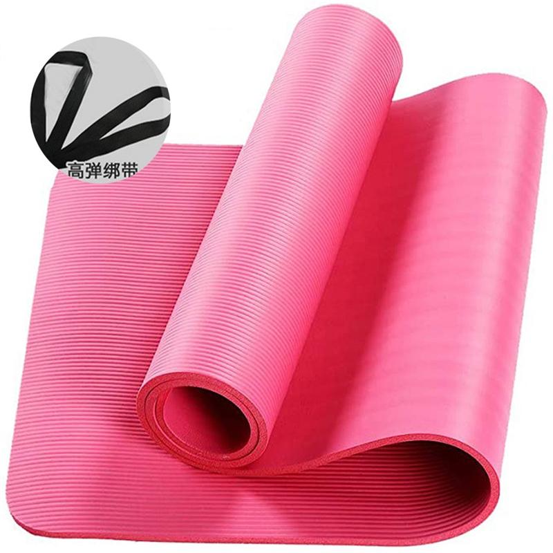 Lncdis 10mm Eva Thick Durable Yoga Mat Non Slip Exercise Fitness Pad Mat Walmart Com Walmart Com