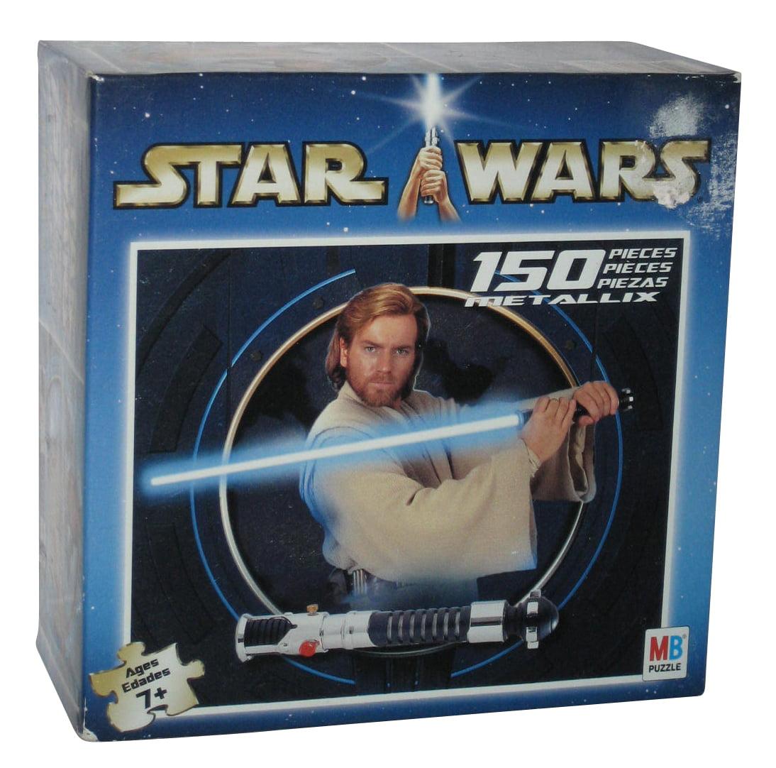 Star Wars Metallix Obi-Wan Kenobi Milton Bradley 150pc Puzzle by Milton Bradley