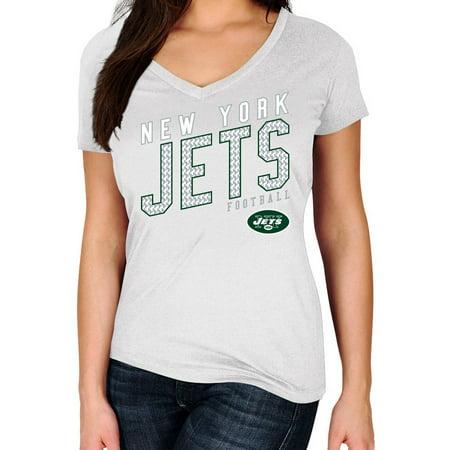 Nfl New York Jets Short - NFL New York Jets Plus Size Women's Basic Tee