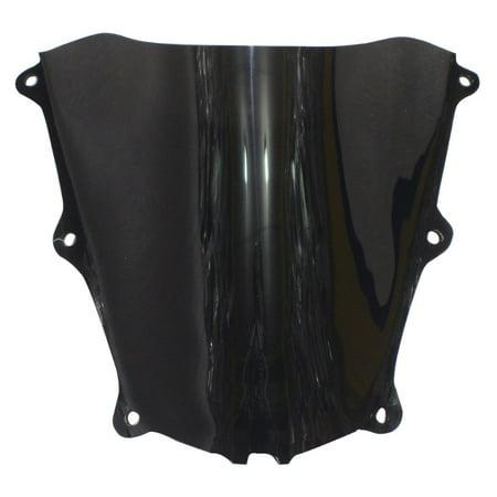 GZYF Motorcycle Windshield Windscreen Wind Screen ABS Plastic for HONDA CBR600RR CBR 600RR 2005 2006 05 06 F5 Smoke Black ()