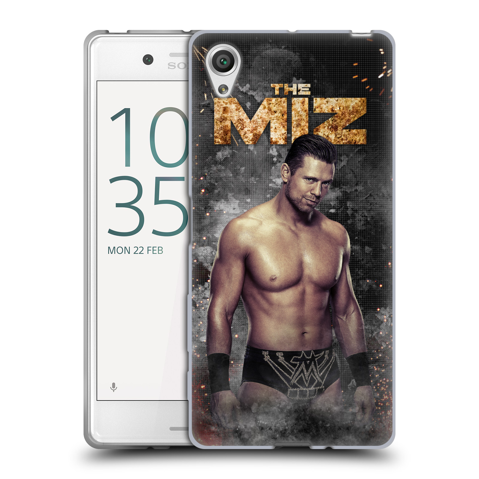 OFFICIAL WWE THE MIZ SOFT GEL CASE FOR SONY PHONES 1
