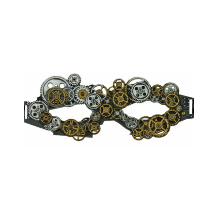 STEAMPUNK EYE MASK - Steampunk Half Mask