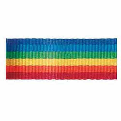 "Stripe Ribbon, 5/8""W x 10 yds, Rainbow"