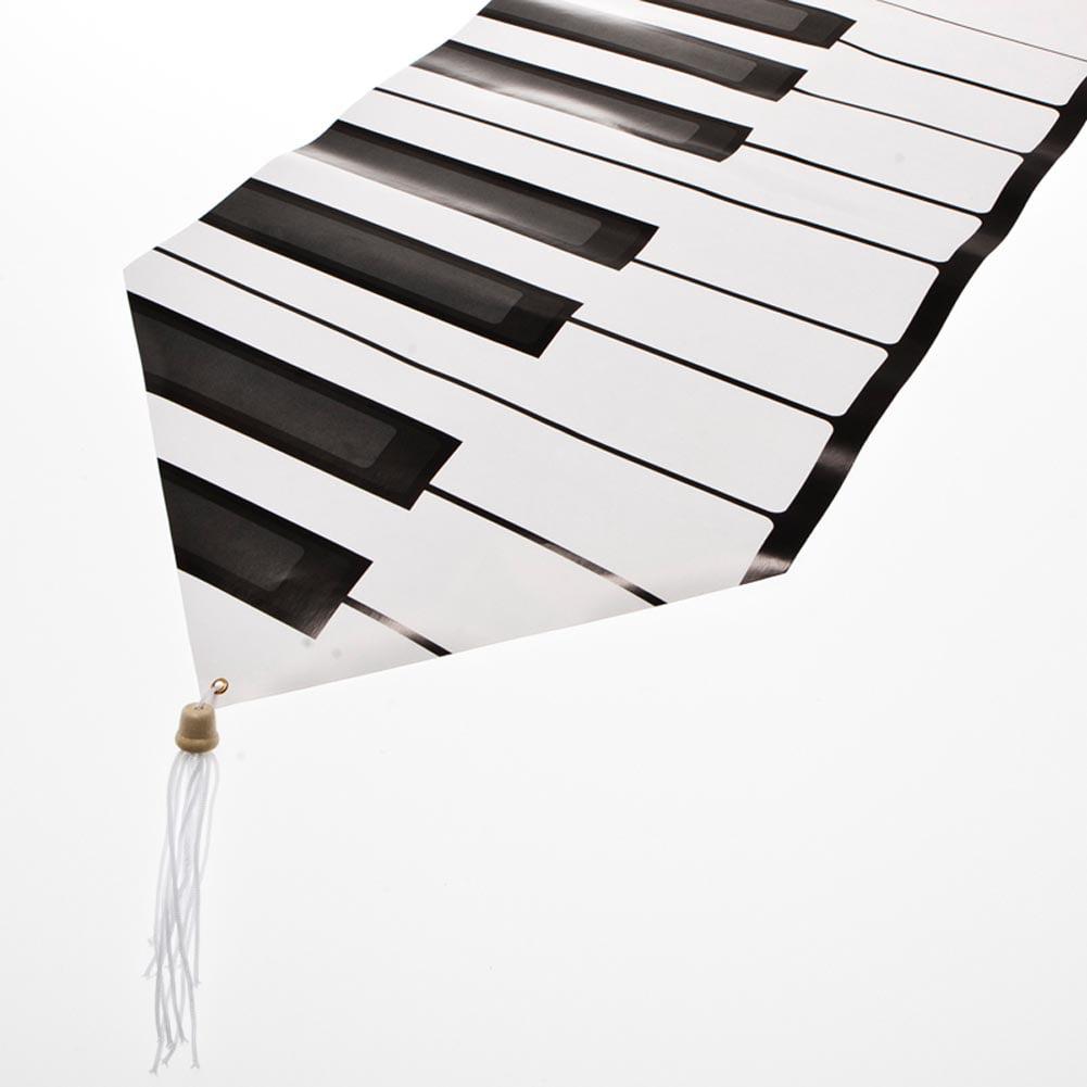 Beistle 57882 Printed Piano Keyboard Table Runner - Pack of 12
