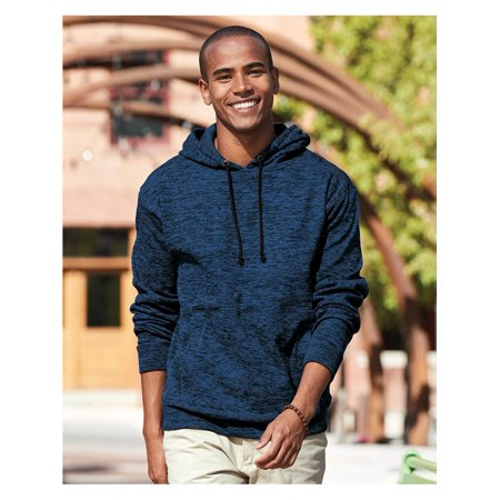 J. America Fleece Cosmic Fleece Hooded Pullover Sweatshirt 8613