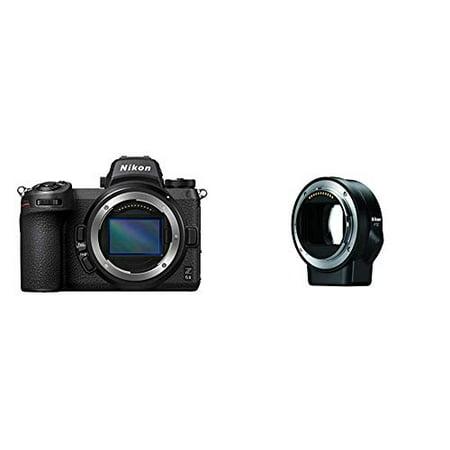 Nikon Z 6II FX-Format Mirrorless Camera Body with Nikon Mount Adapter FTZ (International Model)