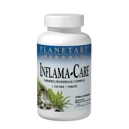Herbal Tablet Medicine (Planetary Herbals Inflama-Care 1165 mg - 60 Tablets )