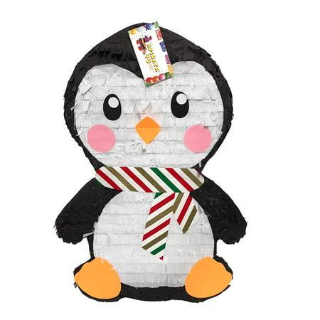 APINATA4U Christmas Baby Penguin Pinata Great for First Christmas Theme Party - Penguin Pinata