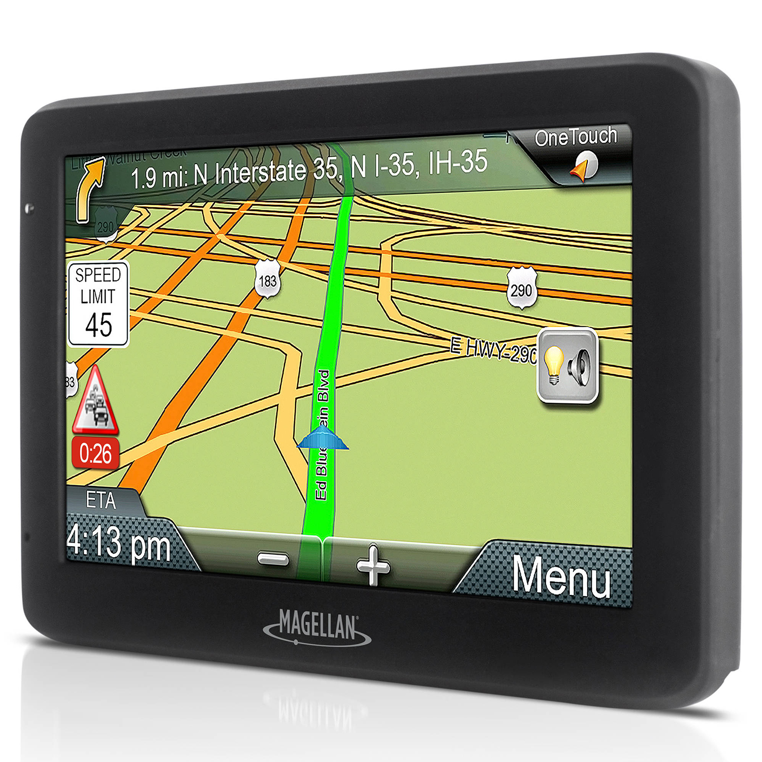 "Refurbished Magellan Roadmate 5255T-LM 5"" Touch Portable Car GPS Vehicle Navigation System"