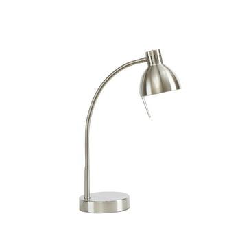 Mainstays Halogen Desk Lamp (Brushed Steel)