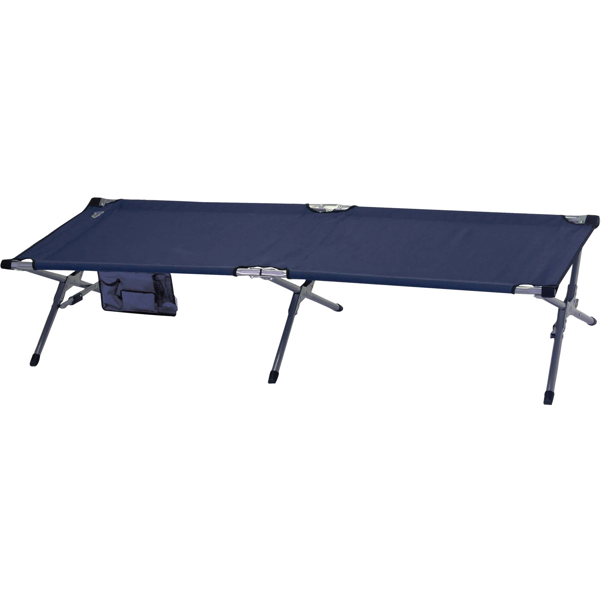 XL Military Cot, Navy Blue by