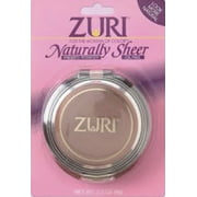 Zuri Naturally Sheer Pressed Powder Natural Brown