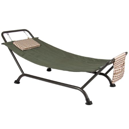 Best Choice Products Deluxe Pillow Hammock With Stand Supports 500lb Outdoor Yard Garden Patio