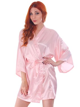 Product Image Women Wedding Bridal Kimono Robe Flower Cotton Night Dress  Nightgown 17abcd98e