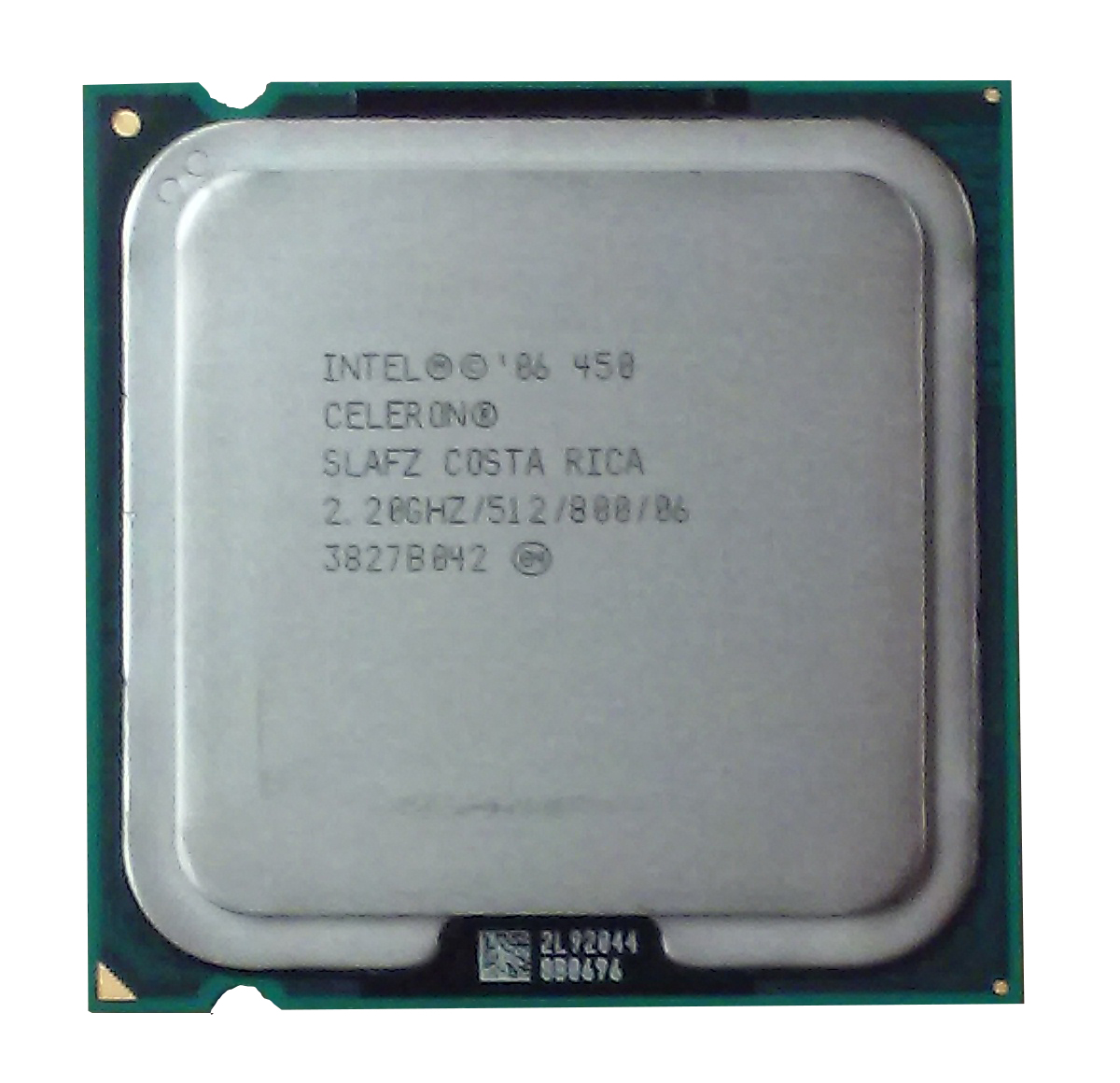 Refurbished Intel Celeron 450 2.2GHz 800MHz LGA 775/Socket T  SLAFZ