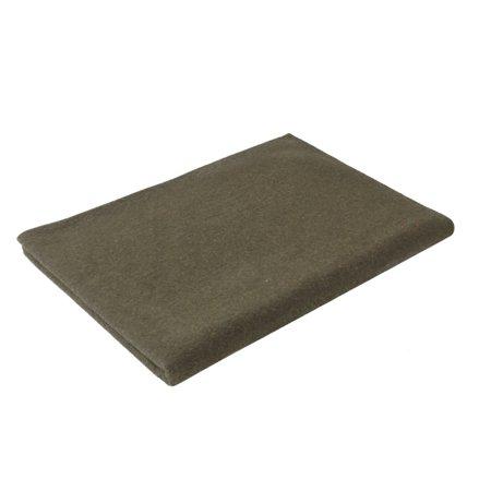 Wool Tartan Blankets (Rothco Military Style 70% Wool 66 x 90 Fire Retardant Blanket, Olive Drab )