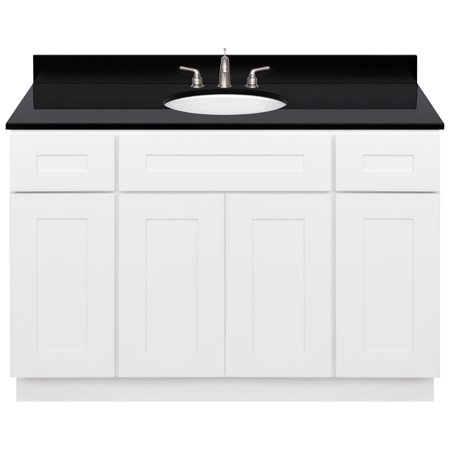 Granite Vanity (White Bathroom Vanity 48