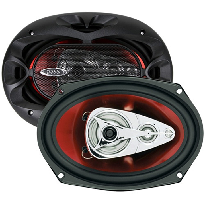 "Boss Audio CH6940 Chaos Exxtreme Series Full-Fange Speakers (6"" x 9"", 500 Watts, 4-Way)"