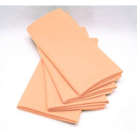 Peach Signature Dinner - Peach Napkins