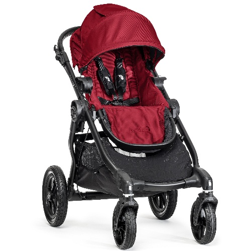 Baby Jogger City Select -  Black Frame - Red