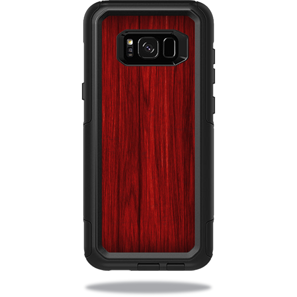 MightySkins Protective Vinyl Skin Decal for OtterBox CommuterSamsung Galaxy S8+ Case sticker wrap cover sticker skins Cherry Grain