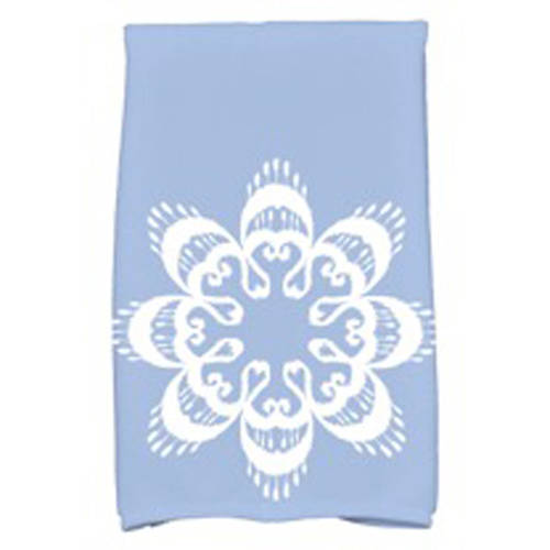 "Simply Daisy 16"" x 25"" Ikat Mandala Geometric Print Kitchen Towel by E By Design"