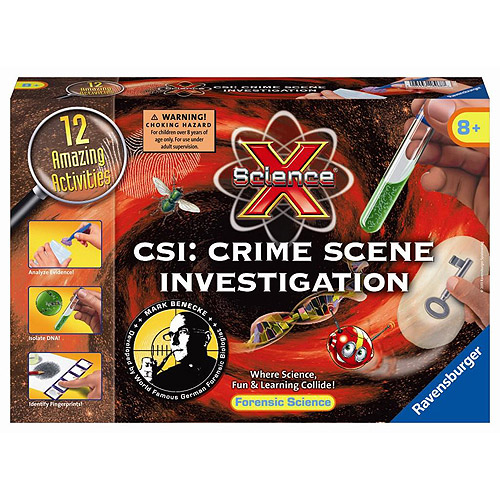Ravensburger Science X Kit, CSI: Crime Scene Investigation