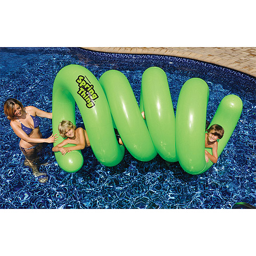 Swimline 90875 Spring Thing Inflatable Pool Toy Multi-Colored