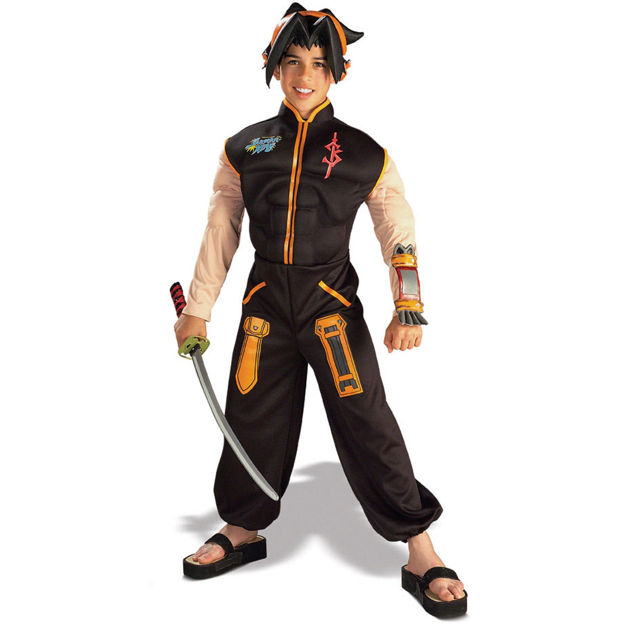 11374969 Shaman King Deluxe Muscle Padded Costume Child Small   Walmart Canada