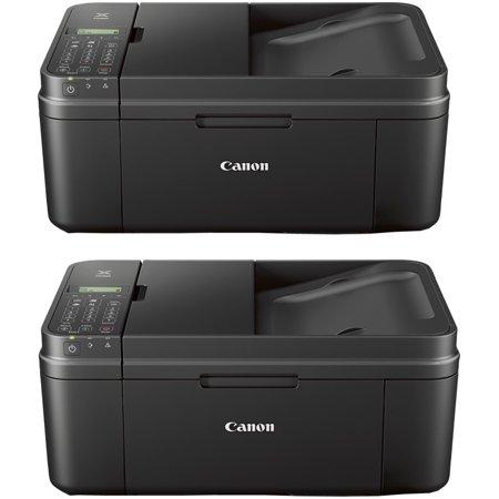 Canon Network Printer Copiers - Canon PIXMA MX492 WiFi All-In-One Compact Size Printer Scanner Copier Fax (2 Pack)