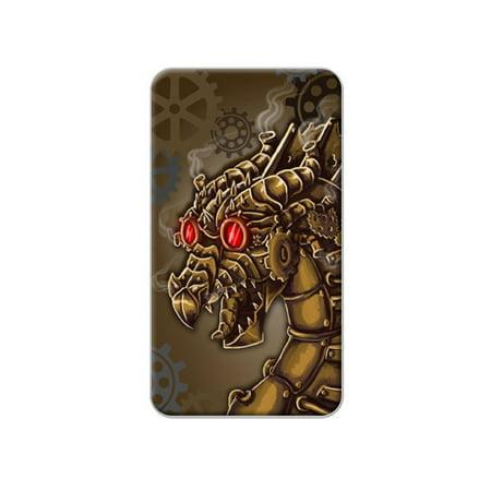 Steampunk Dragon - Mechanical Robot Gears Lapel Hat Pin Tie Tack ()