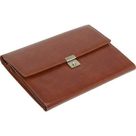Royce Leather 750-BT-AR Aristo Padfolio File Organizer, British Tan