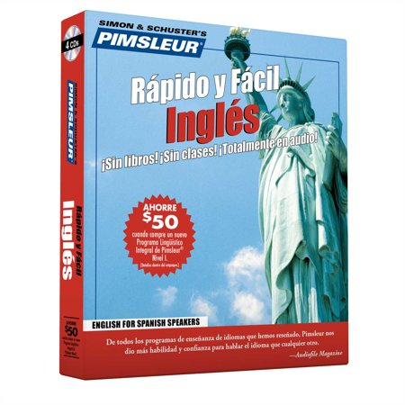 Pimsleur English for Spanish Speakers Quick & Simple Course - Level 1 Lessons 1-8 CD : Learn to Speak and Understand English for Spanish with Pimsleur Language (Best Way To Learn English Speaking)
