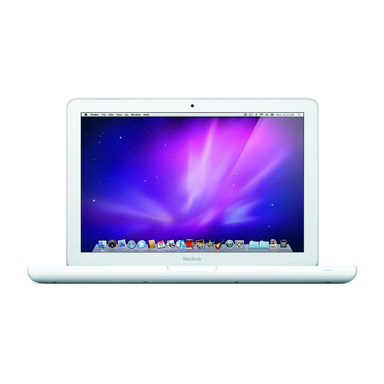 "Apple MacBook Laptop 13.3"" MC516LL/A 4GB 250GB DVDRW Intel 2.4GHz core 2 duo processor GeForce 320M - Certified Refurbished"